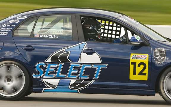International debut for Jetta TDI Cup picture #3