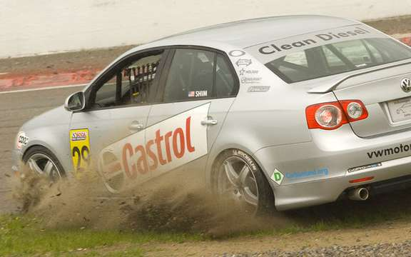 International debut for Jetta TDI Cup picture #5