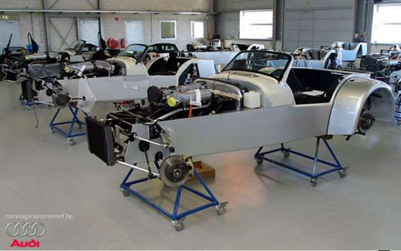 Start of production of the Donkervoort D8 GT Cup picture #9