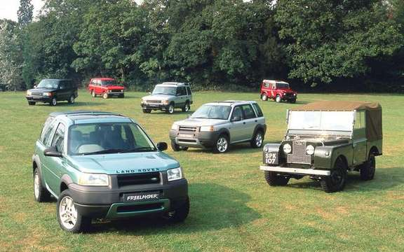 Land Rover celebrates its 60 years and still growing picture #7