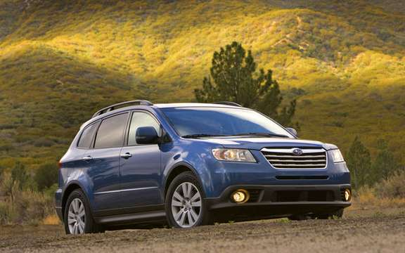 The 2009 Subaru Tribeca: exceptional characteristics and competitive price