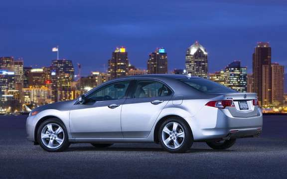 Announcement of the price of the new 2009 Acura TSX picture #2