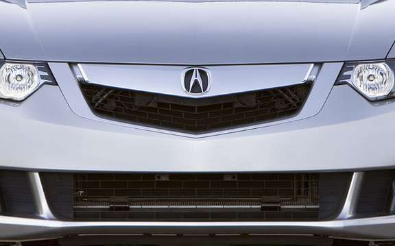 Announcement of the price of the new 2009 Acura TSX picture #3