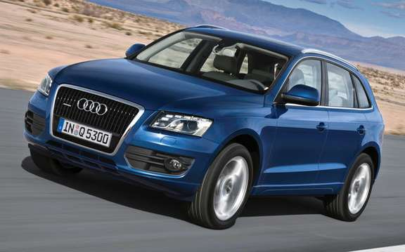 Audi Q5 finally unveiled picture #1