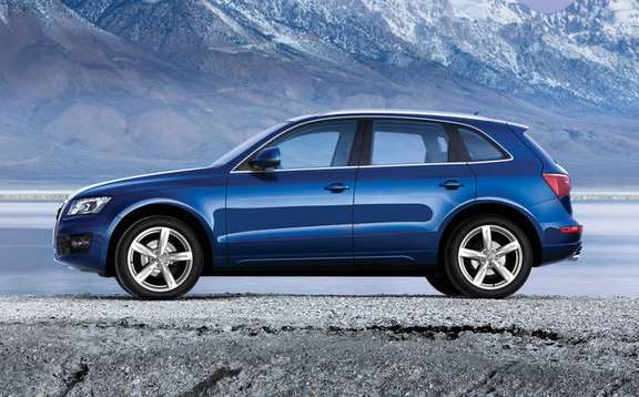 Audi Q5 finally unveiled picture #4