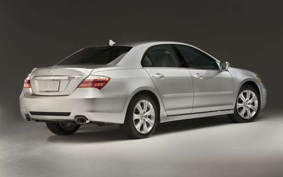 Presentation of the 2009 Acura RL sedan completely redesigned picture #2