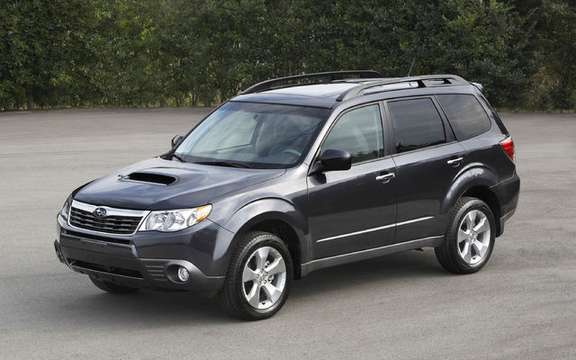 Subaru announces pricing for new 2009 Forester