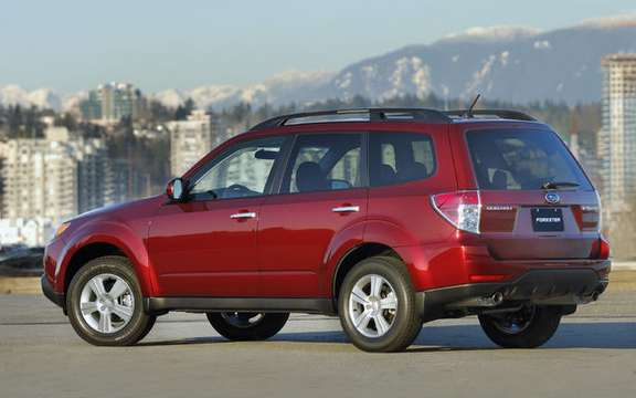 Subaru announces pricing for new 2009 Forester picture #2