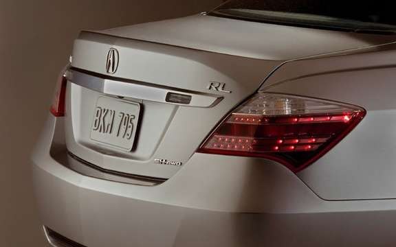 Presentation of the 2009 Acura RL sedan completely redesigned picture #4