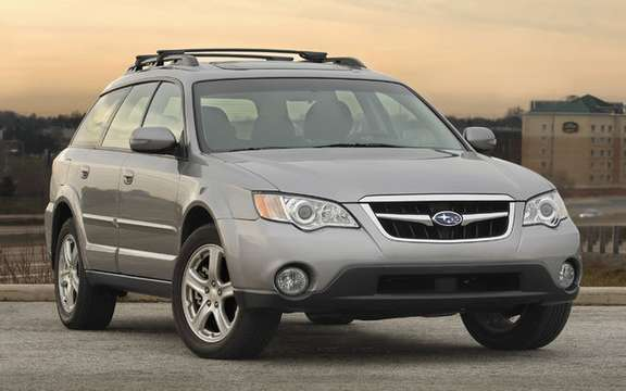 Subaru announces pricing for 2009 Legacy and Outback PZEV picture #3