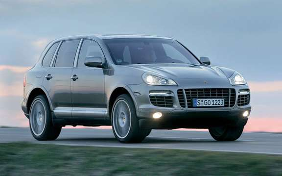 Beijing is the new Porsche Cayenne Turbo S