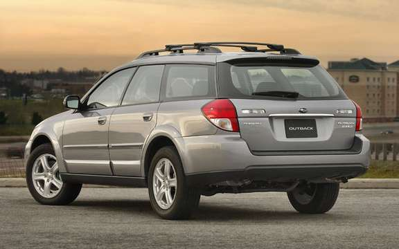 Subaru announces pricing for 2009 Legacy and Outback PZEV picture #4