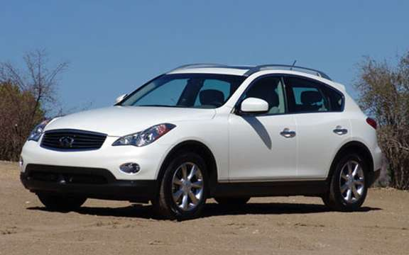 A new SUV for Infiniti, the EX35