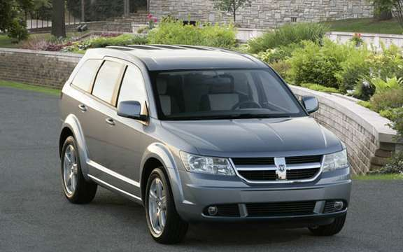 Dodge Journey 2009, the competition for the Mazda5 picture #3