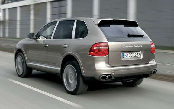 Beijing is the new Porsche Cayenne Turbo S picture #4