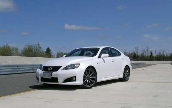 Lexus IS F 2008 for sale at Lexus dealers across Canada