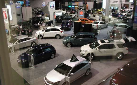 Auto Show in Quebec, nearly 60 000 visitors, despite the storms!