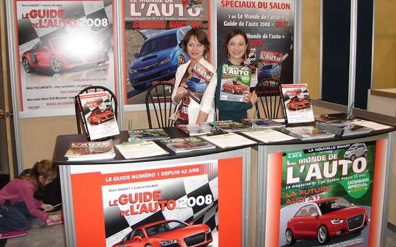 Auto Show in Quebec, LC Media inc. is involved more