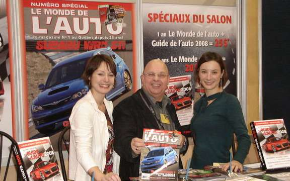 Auto Show in Quebec, LC Media inc. is involved more picture #2