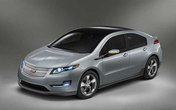 2011 Chevrolet Volt, the official photos
