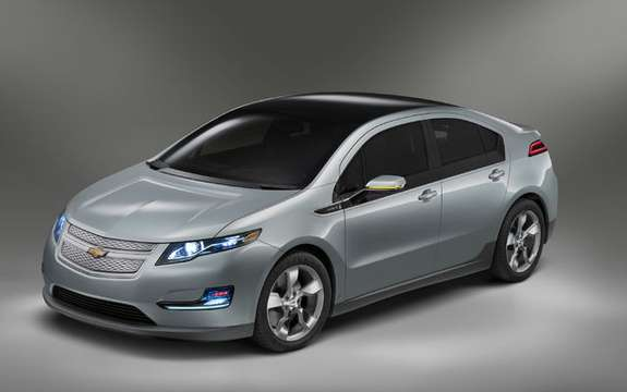 First images of the 2011 Chevrolet Volt production