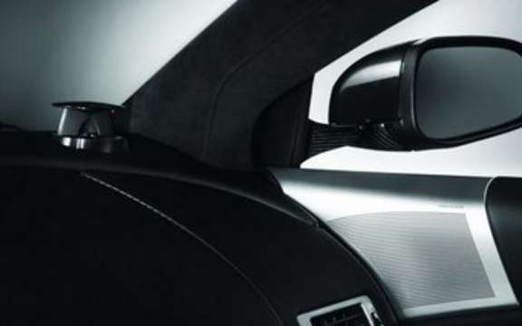 Bang & Olufsen audio system provides a new bespoke Aston Martin DBS picture #3
