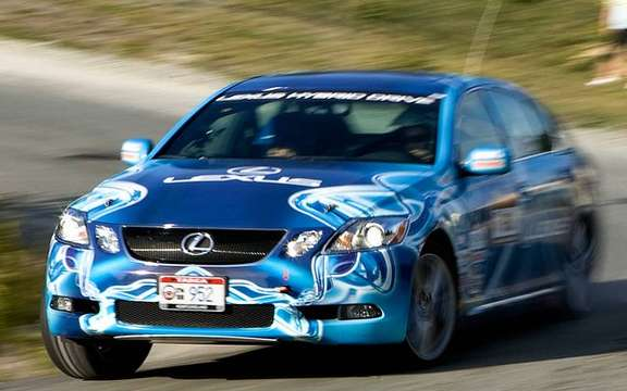 Lexus Targa Newfoundland 2008, hybrid racing car is back