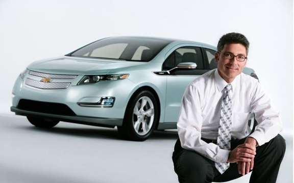 First images of the 2011 Chevrolet Volt production picture #5
