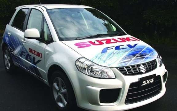 Suzuki SX4 FCV, we finally pass the road test