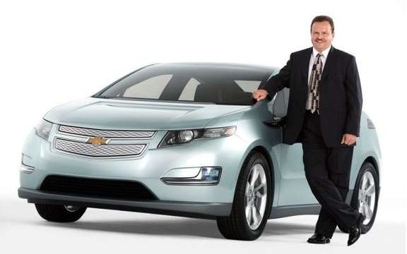 First images of the 2011 Chevrolet Volt production picture #7