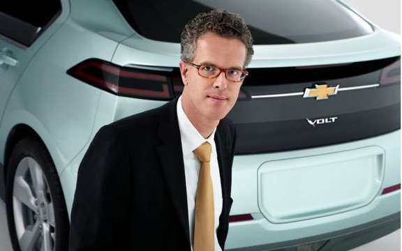 First images of the 2011 Chevrolet Volt production picture #9
