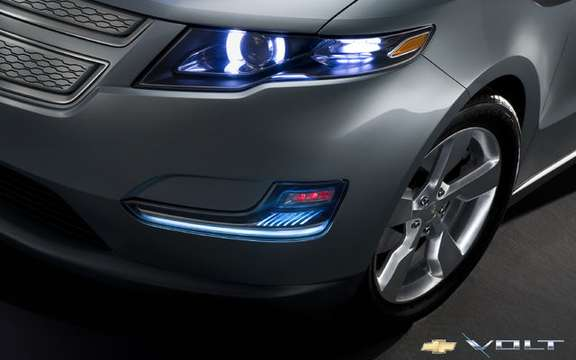 First images of the 2011 Chevrolet Volt production picture #10