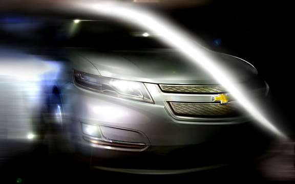 First images of the 2011 Chevrolet Volt production picture #11