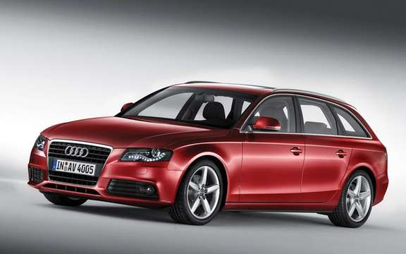 "Audi A4 ""Progressiv"" A clever blend of nature sports, style and value picture #3"