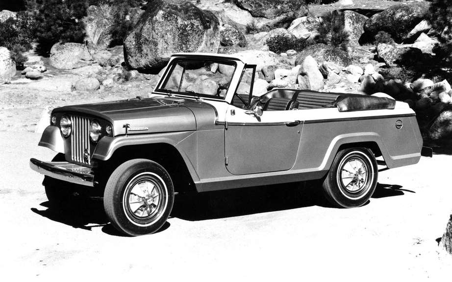 Jeep Jeepster reuses name picture #5