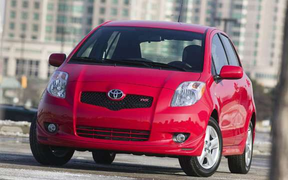 Toyota introduced the Yaris Hatchback 2008!