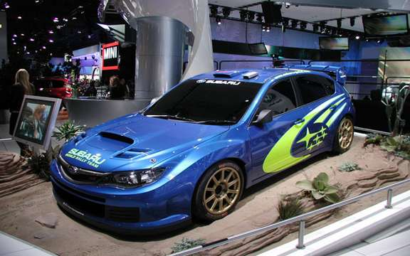 Subaru Canada up to rallies with his 2008 WRX STI picture #2