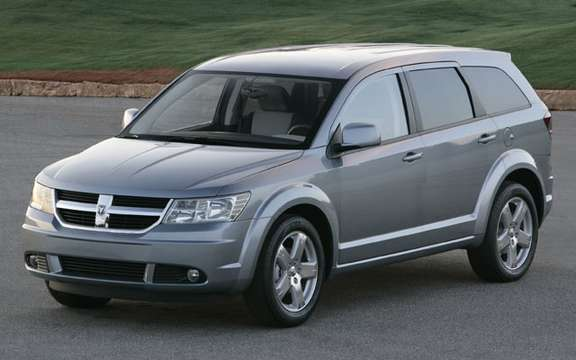 Presents the new Dodge Journey, available from $ 19,995