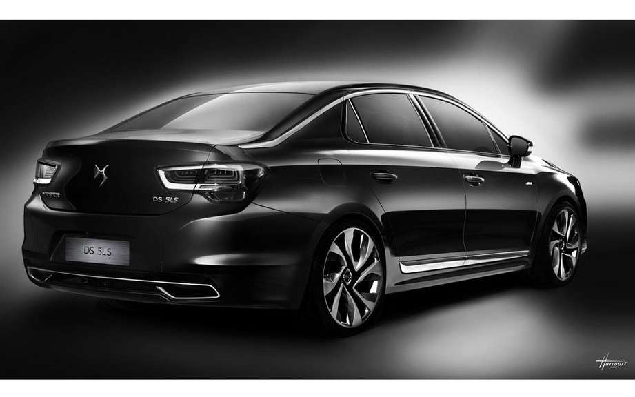 Citroen reveals its new DS 5LS picture #5