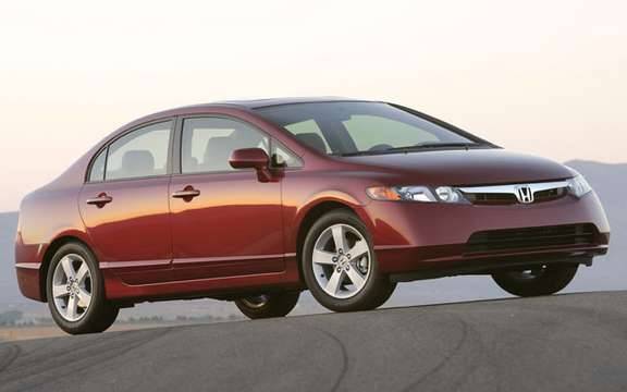 The Honda Civic is the best selling car in Canada for the tenth consecutive year