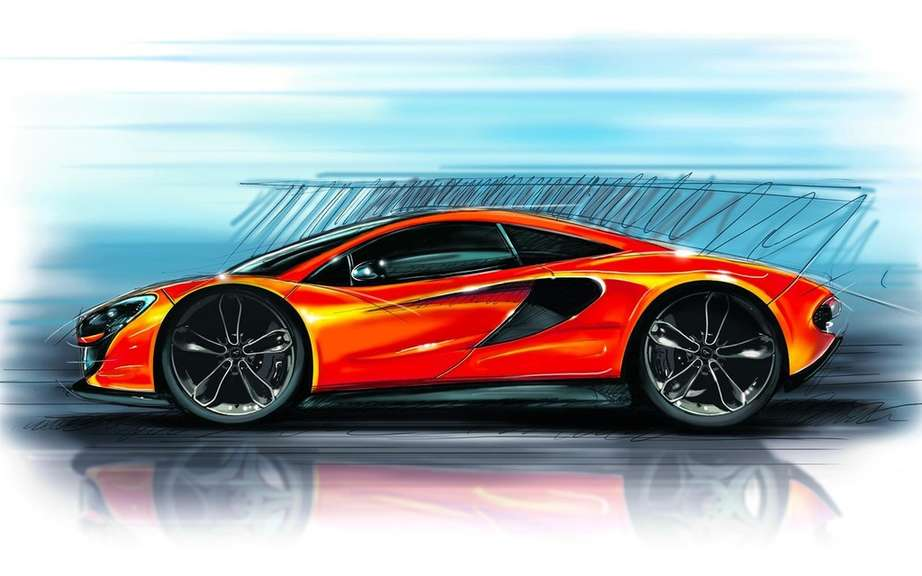McLaren P13: Even no wipers!