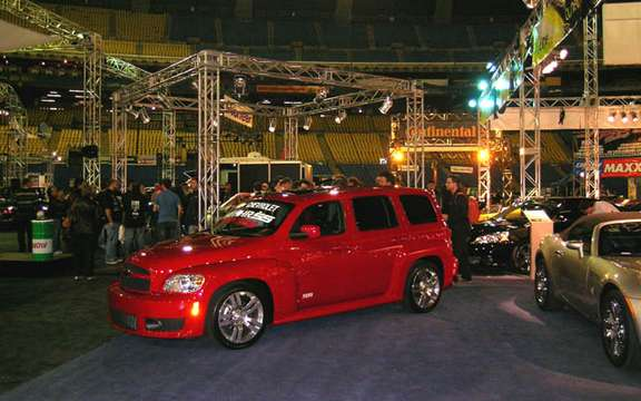 Tuning Salon SCP Canadian premiere unveiling of the Chevrolet HHR SS 2008