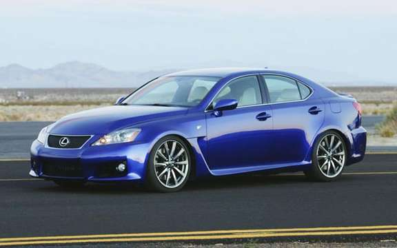A large sports sedan Lexus IS-F 2008 picture #2