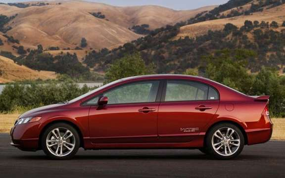 Honda Civic Si 2008 has four doors!