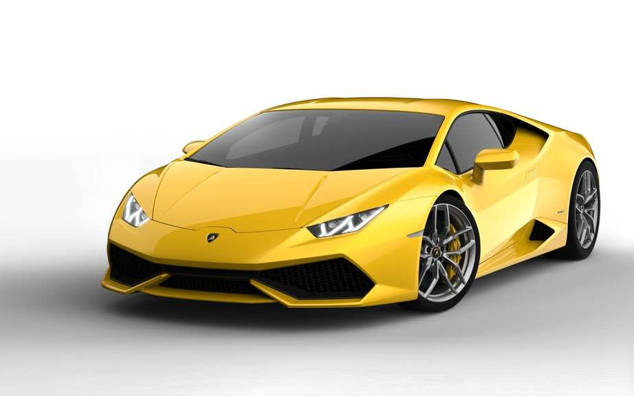 Lamborghini LP 610-4 Huracan: First official photos picture #2