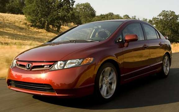 Honda Civic Si 2008 has four doors! picture #3