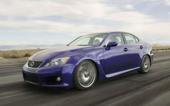 A large sports sedan Lexus IS-F 2008 picture #5