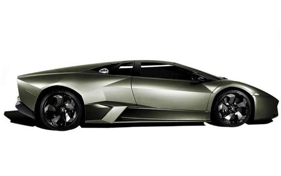 The answer to the Ferrari Enzo, the Lamborghini Reventon picture #4