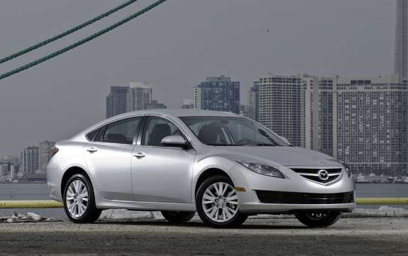 The Mazda 6 2009 First images! picture #1