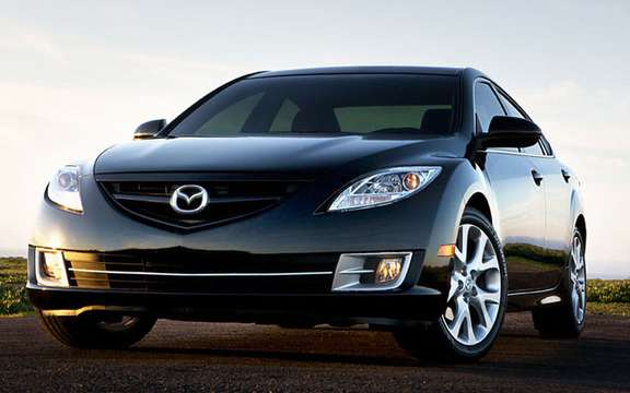 The Mazda 6 2009 First images! picture #2